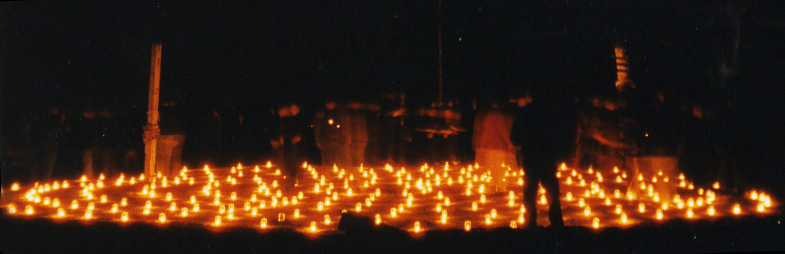 Candle Labyrinth