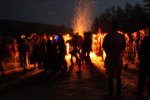 Rites of Spring Opening Fire